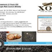 XOP - Bowmore 21YO - XOP0151