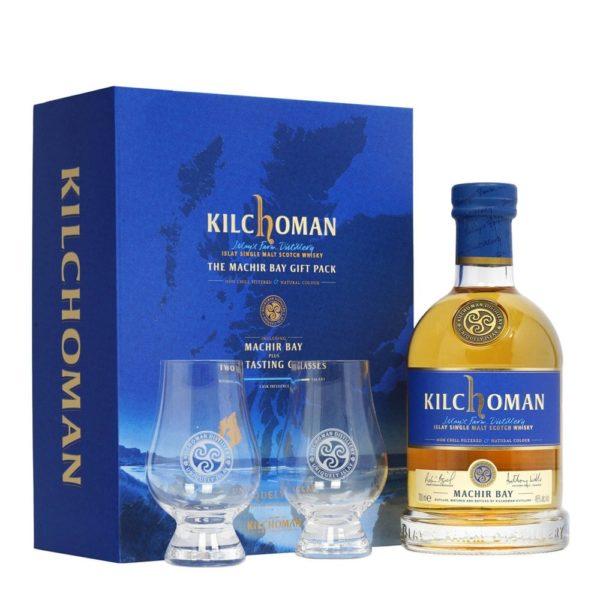 kilchoman glass gift pack