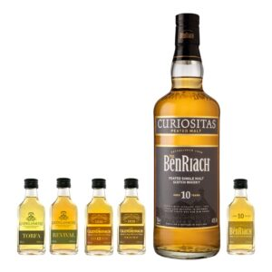 benriach curiositas tasting set